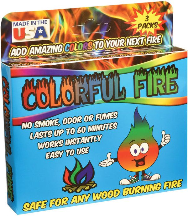 Colorful Fire