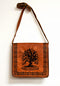 Die Cut Handmade Genuine Leather Tree of Life Bag