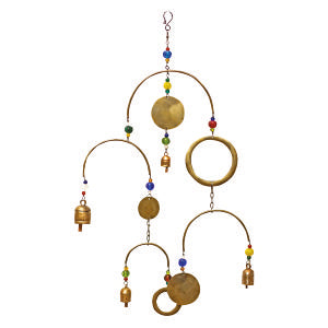 Swinging Circles Beads & Bells