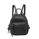 Vegan Leather Mini Backpack