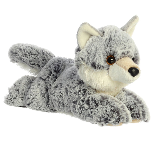 Winter Wolf Flopsie 8""