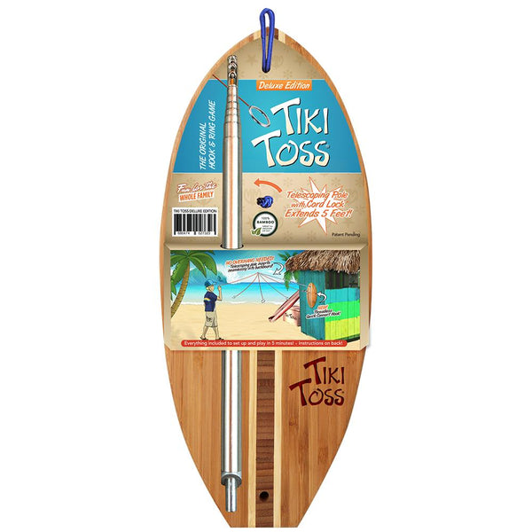 Tiki Toss Tiki Toss Surf Deluxe Edition With Telescoping Pole