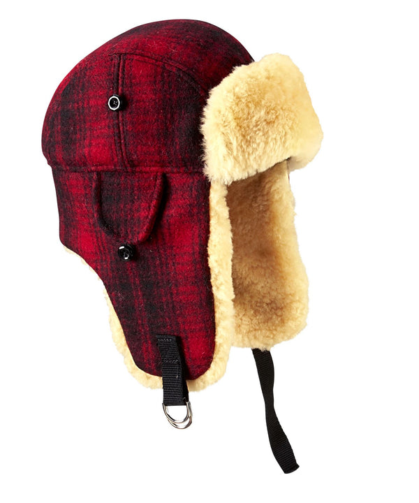 Plaid Heritage Winter Bomber Hat