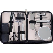 Men's Black Grooming Set