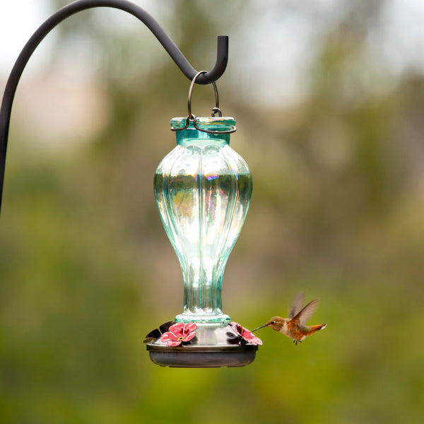 Classic Brands Iridescent Antique Style Hummingbird Feeder