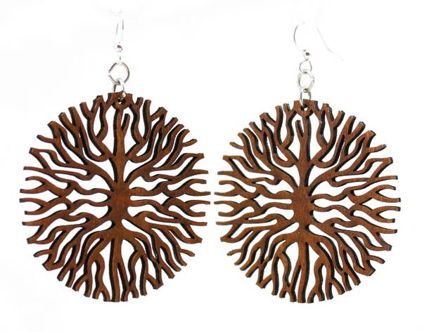 Below the Root Wooden Earrings