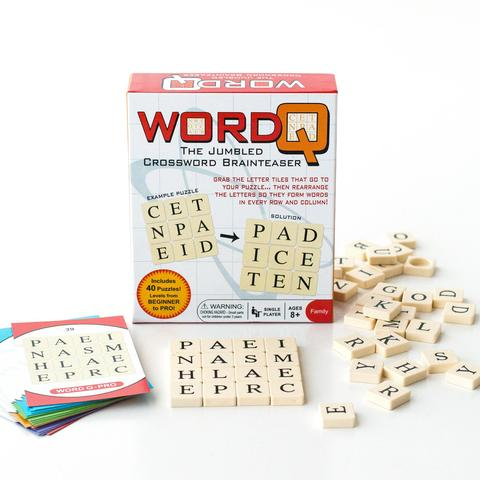 Word Q The Jumbled Crossword Brainteaser