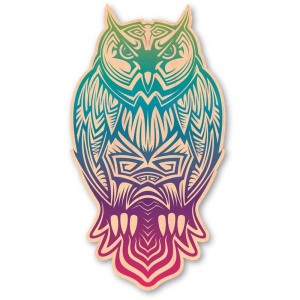 Woodsticker Color The Owl