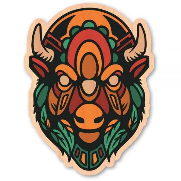 Woodsticker Nowhere Bison