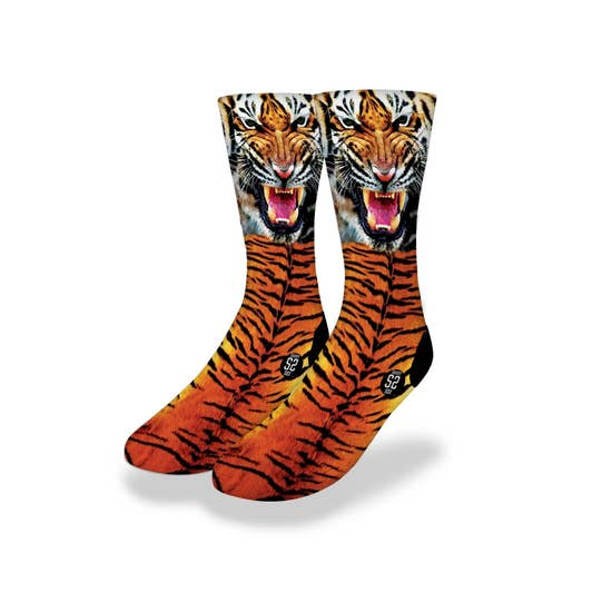 Tiger Face Socks