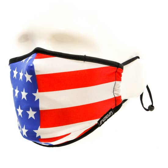 FACE MASK | Breathable Comfortable FABRIC COVER | Uncle Sam