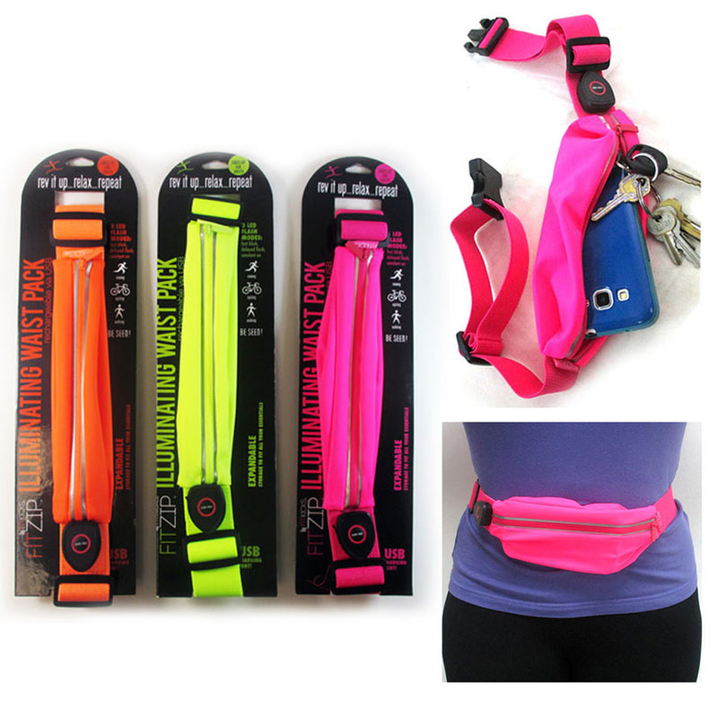Fitzip Illuminating Waist Pack