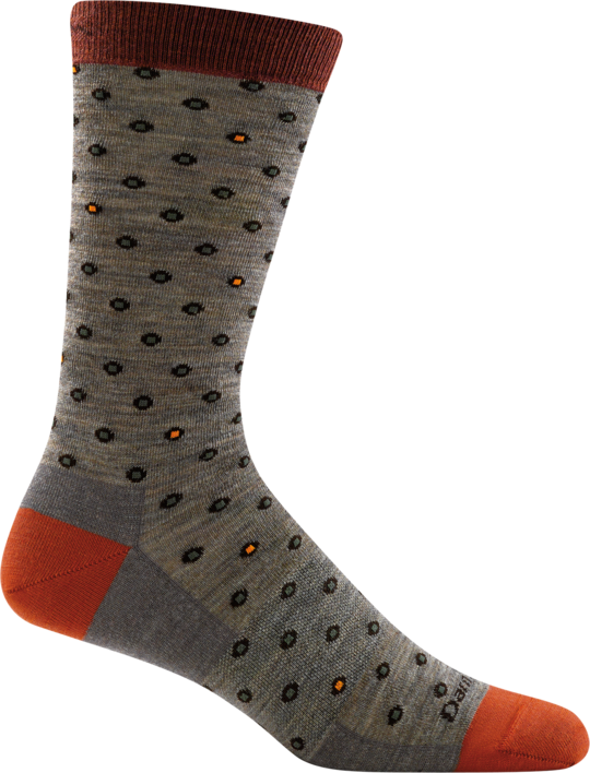 MEN'S FISH EYE CREW LIGHTWEIGHT SOCKS