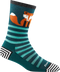 WOMEN'S ANIMAL HAUS CREW LIGHTWEIGHT SOCKS