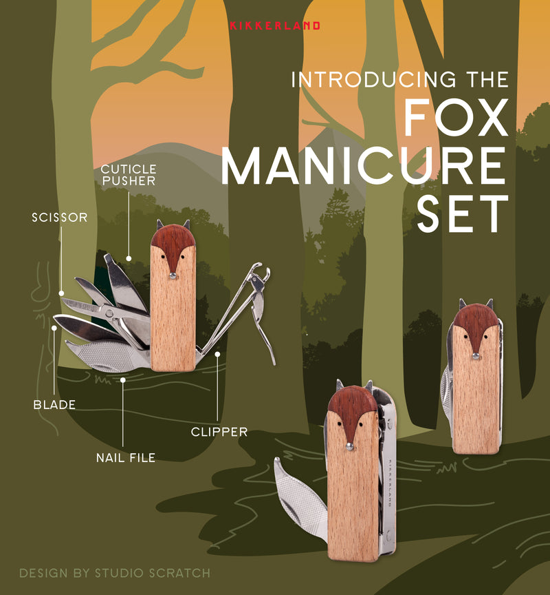Fox Manicure Kit