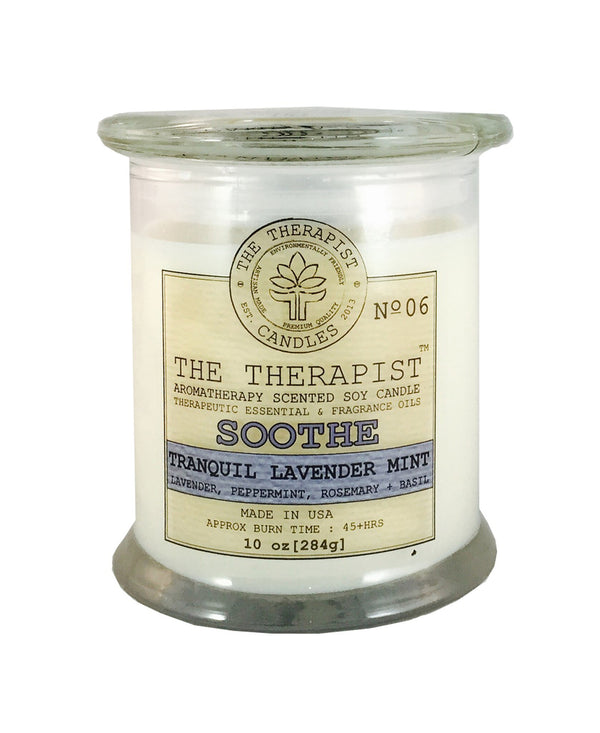 The Therapist Candle Soothe Candle (Locally Made)