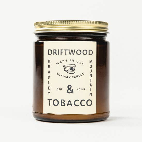 Driftwood & Tobacco Candle