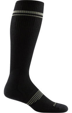 Men's ELEMENT OTC LIGHTWEIGHT WITH CUSHION W/ GRADUATED LIGHT COMPRESSION Black