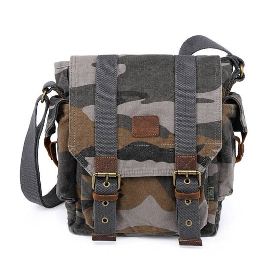 Camo Cross Body BAg