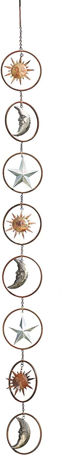Sun & Moon Hanging Ornament