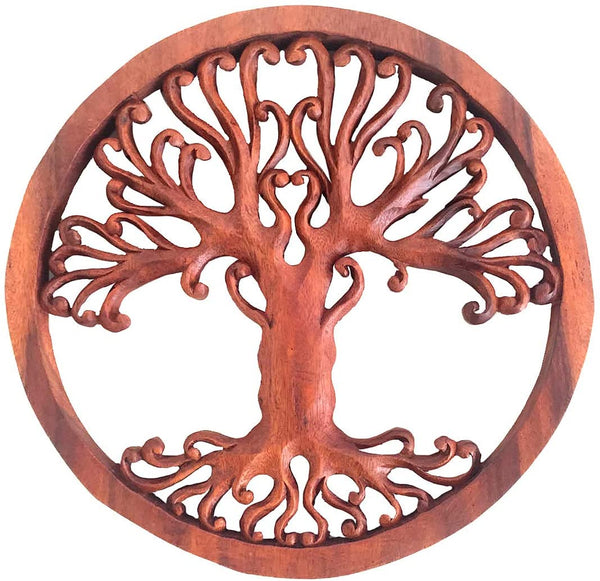 Tree Of Life Wooden Plaque