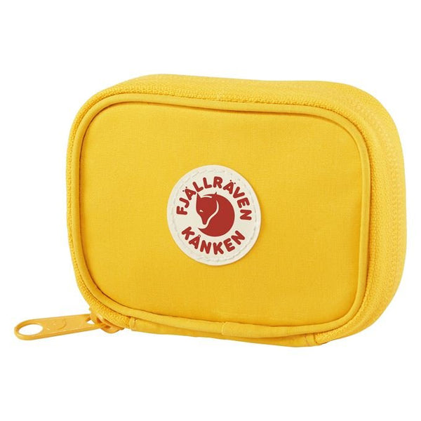 Kanken Card Wallet Warm Yellow