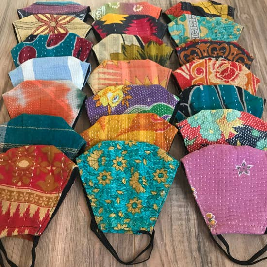 Kantha Face Masks