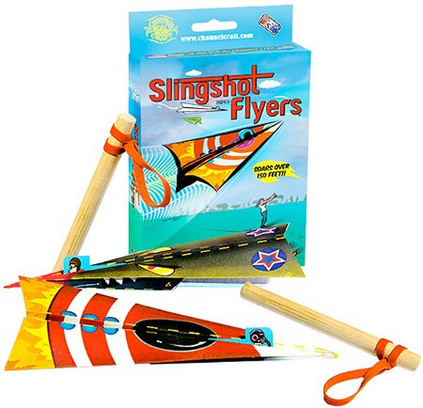 Channel Craft Slingshot Flyers Paper Airplane Kit