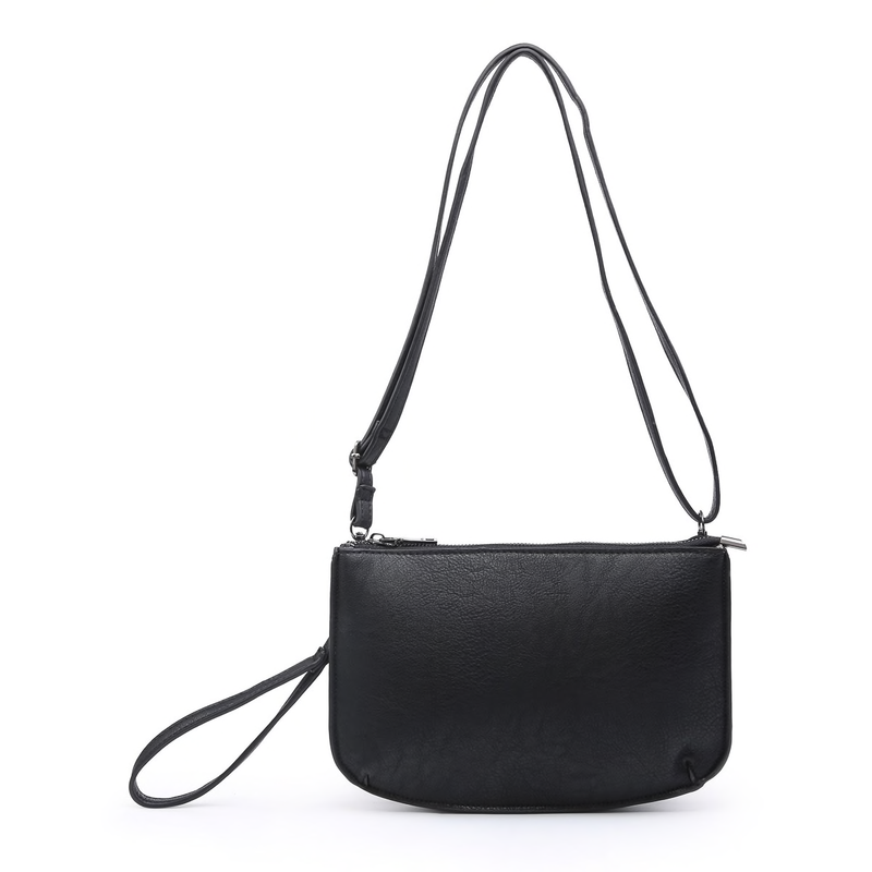 Vegan Leather Crossbody Bag