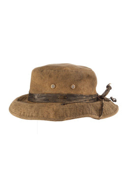 Bend Tarp Cloth Boonie Hat - Brown