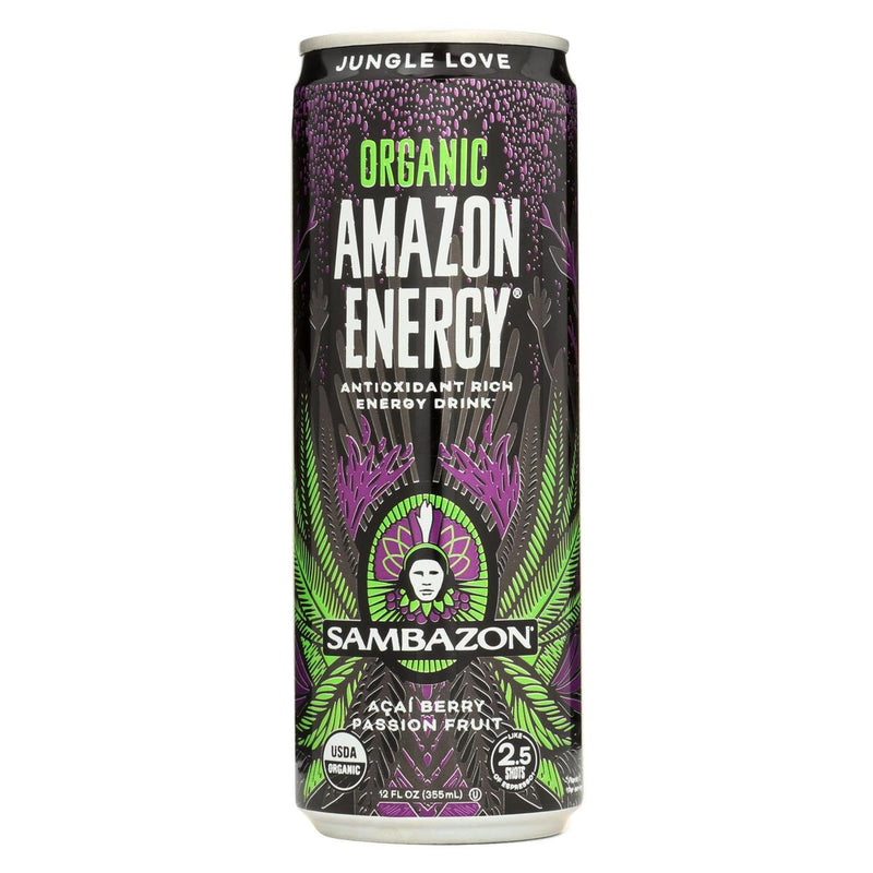 Organic Açaí Amazon Energy Drink
