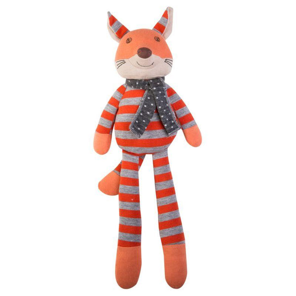 Apple Park Organic Farm Buddies Frenchy Fox Plush Toy