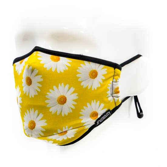 FACE MASK | Breathable Comfortable FABRIC COVER | Daisy Flow