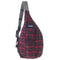 Plaid Rope Bag-Lumberjack