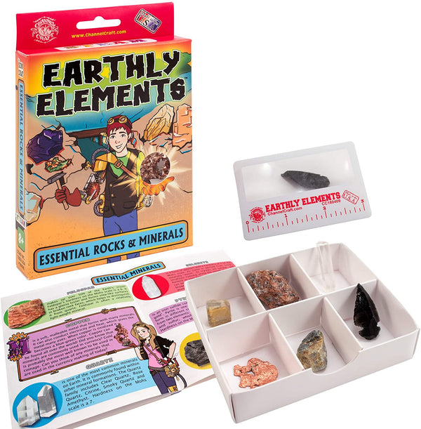 Earthly Elements Essential Rocks & Minerals