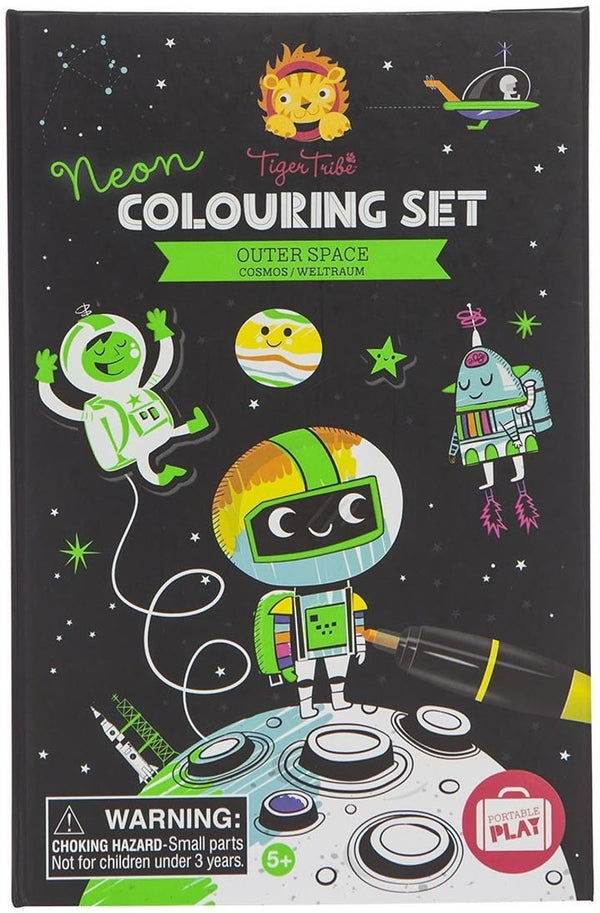 Schylling Outer Space Colouring Set