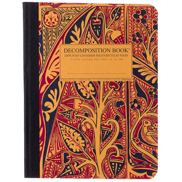 Decomposition Book Large College Ruled 100% Recycled Notebook