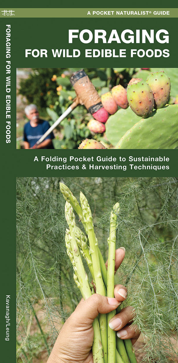 Foraging For Wild Edible Foods Pocket Guide