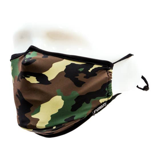 FACE MASK | Breathable Comfortable FABRIC COVER | Camouflage