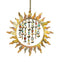 Sun with Flames and Bells  Hanging Ornament