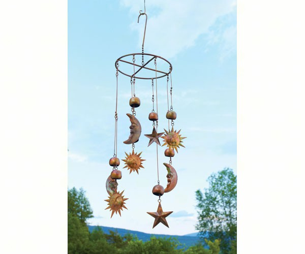 Sun Moon Stars Hanging Mobile