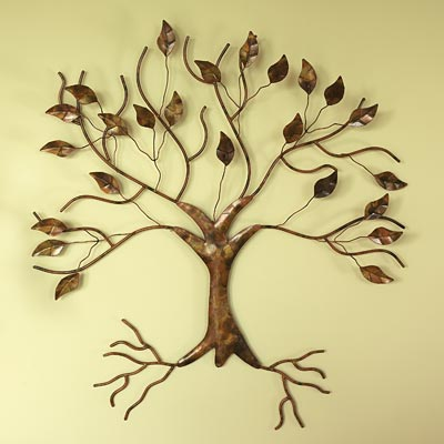 Metal Tree Wall Decor