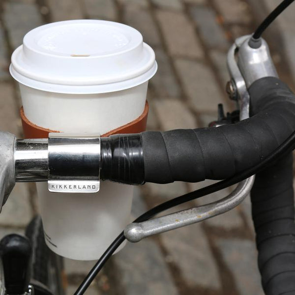 Bike Leather Cup Holder