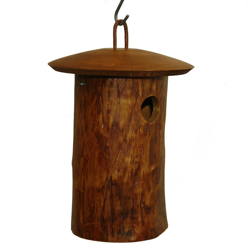 Natural Mango Wood Bird Home