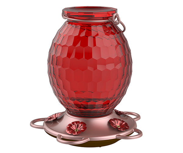 Red Gem Hummingbird Feeder
