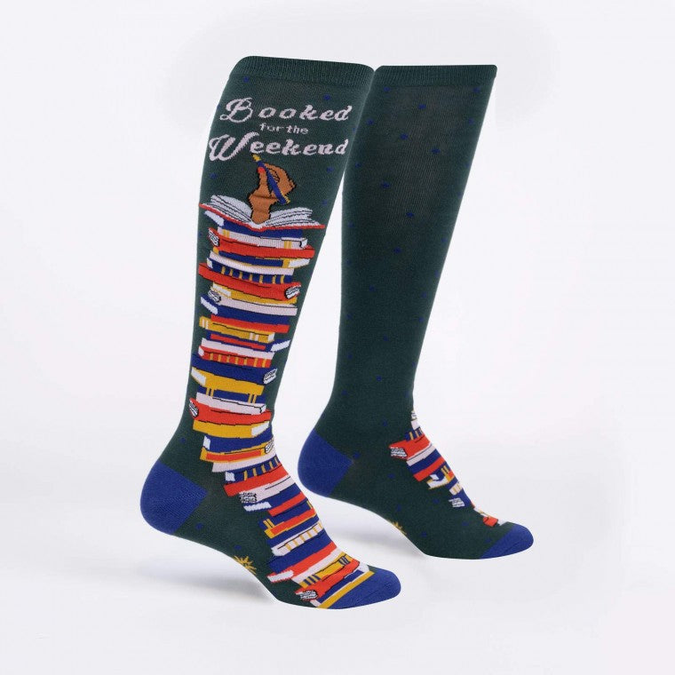 Women's Booked for the Weekend Knee Hight Socks