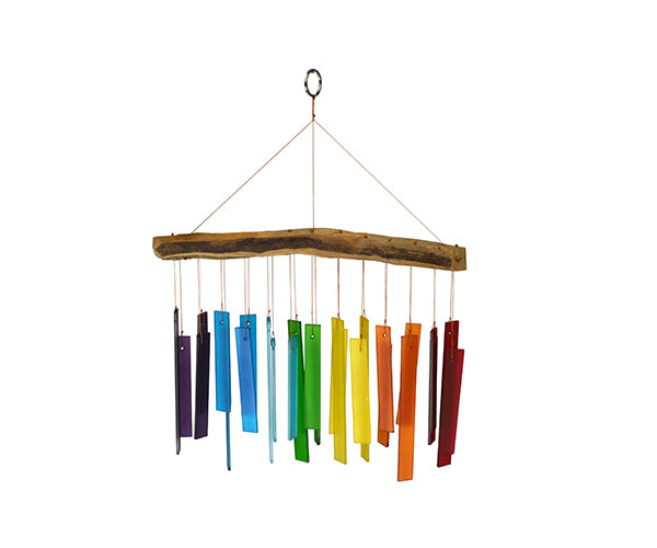 Rainbow Color Spectrum & Driftwood Chime