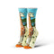 Giraffe Womens Crew Socks