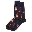Men's Bourbon Crew Socks