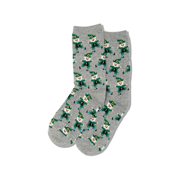 Dancing Leprechaun Women's Socks